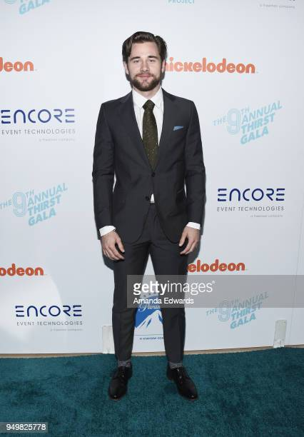 Actor Luke Benward arrives at the 9th Annual Thirst Gala at The Beverly Hilton Hotel on April 21 2018 in Beverly Hills California