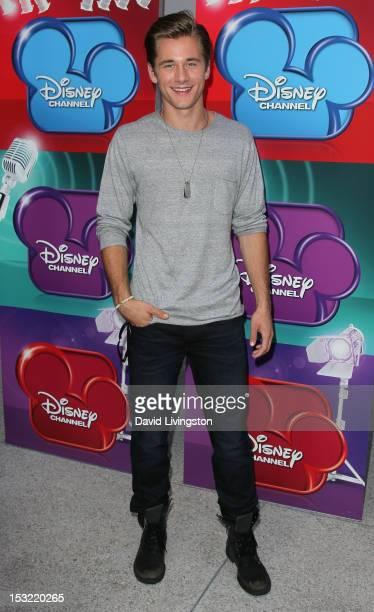 Actor Luke Benward attends a screening of the Disney Channel original movie Girl Vs Monster at the Walt Disney Studios on October 1 2012 in Burbank...