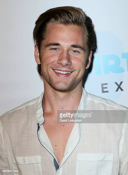 Actor Luke Benward attends actress Madison Pettis' Sweet 16 Birthday Party at the Emerson Theatre on July 24 2014 in Hollywood California