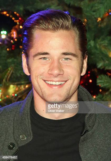 Actor Luke Benward attends Knott's Merry Farm Hosts Snoopy's Merriest Tree Lighting at Knott's Berry Farm on November 22 2014 in Buena Park California