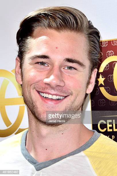 Actor Luke Benward attends the Celebrity Experience Interactive Event at Universal Studios Hollywood on July 9 2014 in Universal City California