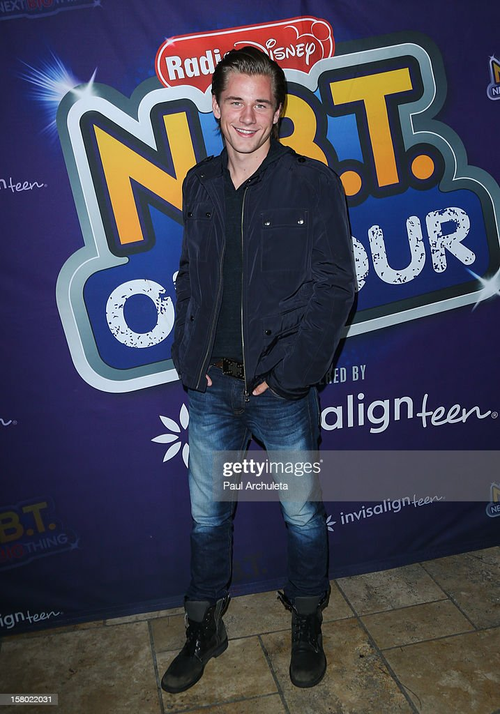 Actor Luke Benward attends the Radio Disney's 'N.B.T.' (Next BIG Thing) season five winner announcements at The Americana at Brand on December 8, 2012 in Glendale, California.