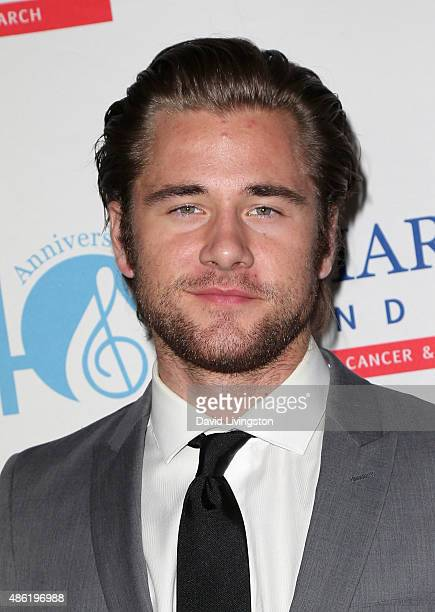 Actor Luke Benward attends the TJ Martell Foundation's Spirit of Excellence Awards at the Beverly Wilshire Four Seasons Hotel on September 1 2015 in...