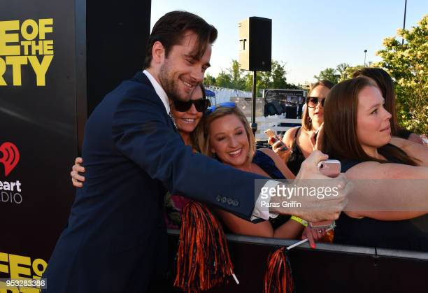 Actor Luke Benward poses with fans at Life Of The Party World Premiere at AMC Tiger 13 on April 30 2018 in Opelika Alabama