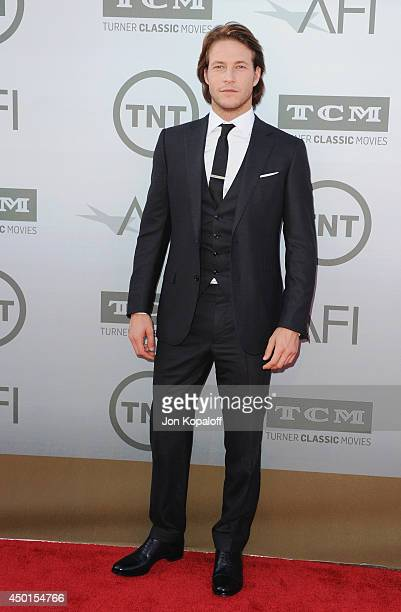 Actor Luke Bracey arrives at the 2014 AFI Life Achievement Award Gala Tribute at Dolby Theatre on June 5 2014 in Hollywood California