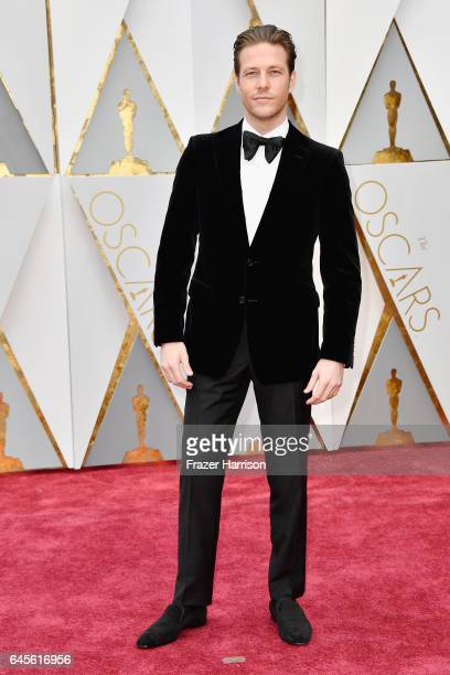 Actor Luke Bracey attends the 89th Annual Academy Awards at Hollywood Highland Center on February 26 2017 in Hollywood California