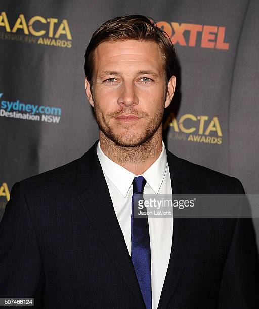 Actor Luke Bracey attends the AACTA International Awards at Avalon Hollywood on January 29 2016 in Los Angeles California