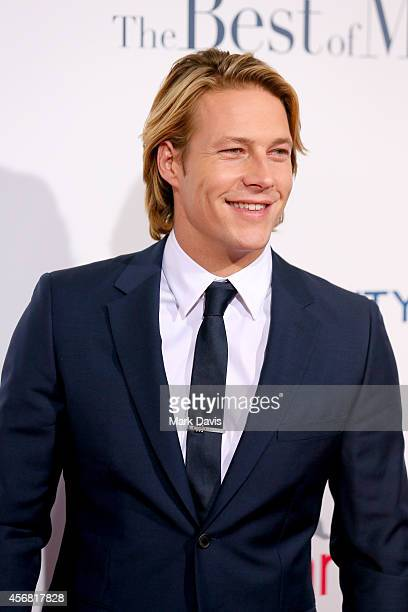 Actor Luke Bracey attends the premiere of Relativity Studios' The Best Of Me at Regal Cinemas LA Live on October 7 2014 in Los Angeles California