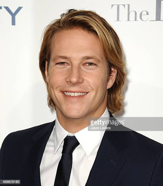 Actor Luke Bracey attends the premiere of The Best Of Me at Regal Cinemas LA Live on October 7 2014 in Los Angeles California