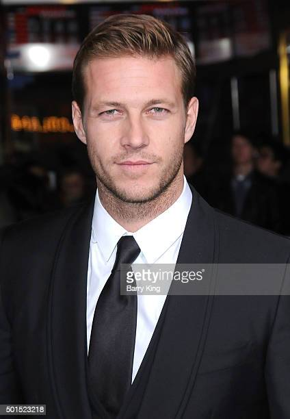 Actor Luke Bracey attends the Premiere of Warner Bros Pictures' 'Point Break' at TCL Chinese Theatre on December 15 2015 in Hollywood California