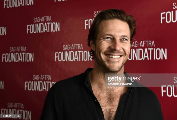 Actor Luke Bracey attends the SAGAFTRA Foundation Conversations with Lucky Day at the SAGAFTRA Foundation Screening Room on October 11 2019 in Los...