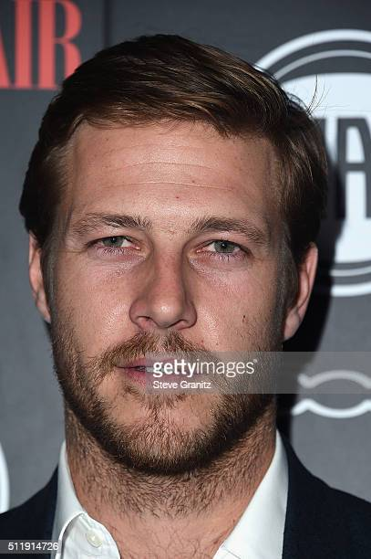 Actor Luke Bracey attends Vanity Fair and FIAT Toast To Young Hollywood at Chateau Marmont on February 23 2016 in Los Angeles California