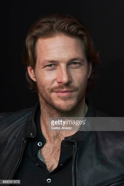 Actor Luke Bracey presents 'Polo Red Extreme' the new Ralph Lauren fragrance on February 1 2017 in Madrid Spain