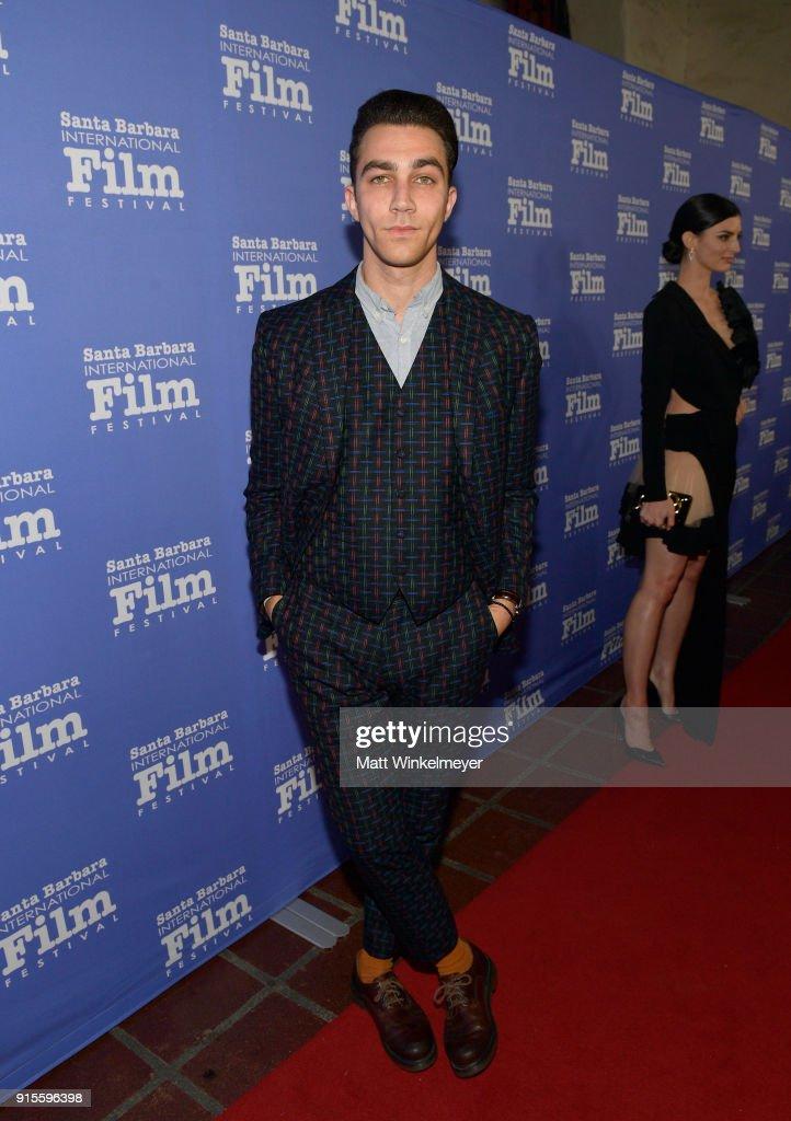 Actor Luke Brandon Field at The American Riviera Award Honoring Sam Rockwell during The 33rd Santa Barbara International Film Festival at Arlington Theatre on February 7, 2018 in Santa Barbara, California.