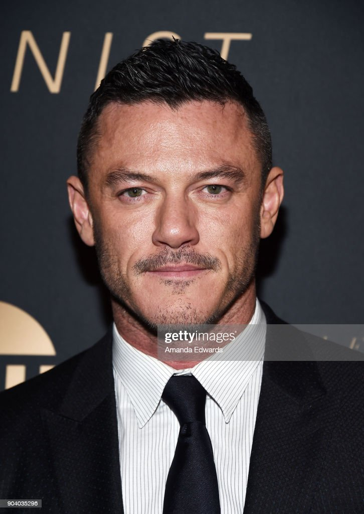 Actor Luke Evans arrives at the premiere of TNT's 'The Alienist' at The Paramount Lot on January 11, 2018 in Hollywood, California.