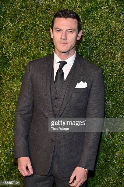 Actor Luke Evans attends the 11th annual CFDA/Vogue Fashion Fund Awards at Spring Studios on November 3 2014 in New York City