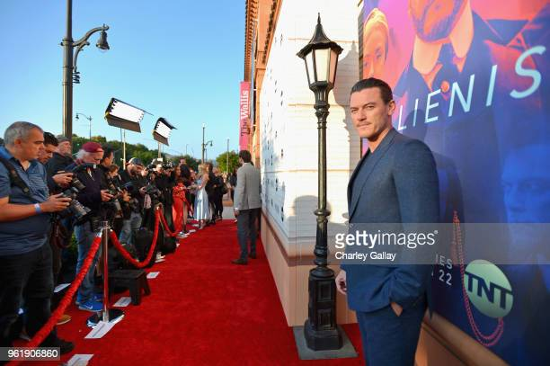 Actor Luke Evans attends The Alienist Los Angeles For Your Consideration Event at Wallis Annenberg Center for the Performing Arts on May 23 2018 in...