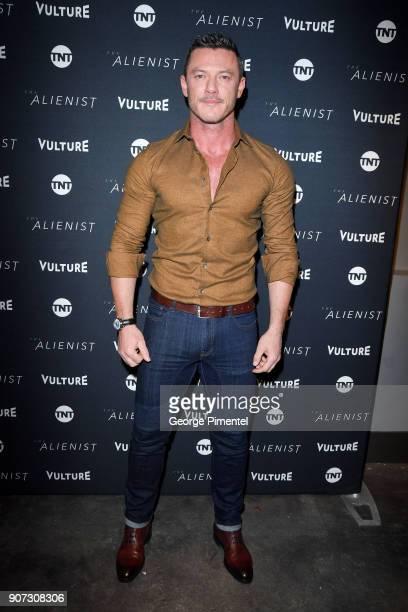 Actor Luke Evans attends The Alienist Special Screening during Sundance Film Festival 2018 at The Vulture Spot on January 19 2018 in Park City Utah