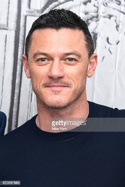 Actor Luke Evans attends the AOL Build Speaker Series to discuss HighRise at AOL Studios In New York on April 20 2016 in New York City