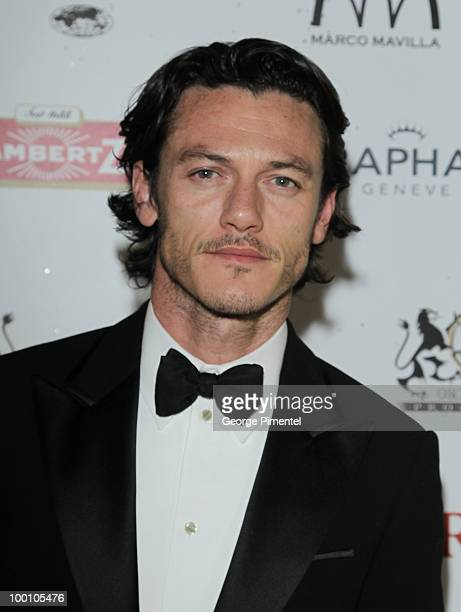 Actor Luke Evans attends the Artists for Peace and Justice Fundraiser at the VIP Room, Palm Beach during the 63rd Annual International Cannes Film...