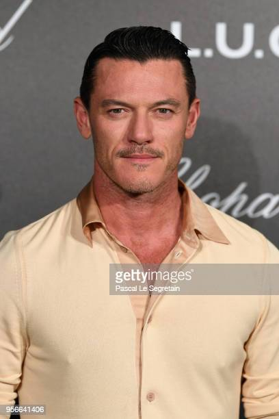 Actor Luke Evans attends the Chopard Gentleman's Evening at Hotel Martinez on May 9 2018 in Cannes France