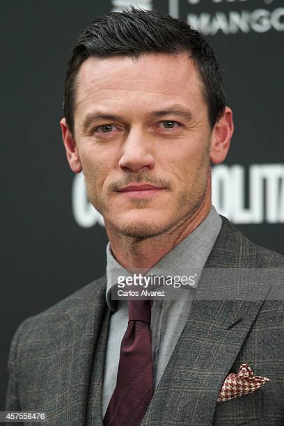 Actor Luke Evans attends the Cosmopolitan Fun Fearless Awards 2014 at the Ritz Hotel on October 20 2014 in Madrid Spain