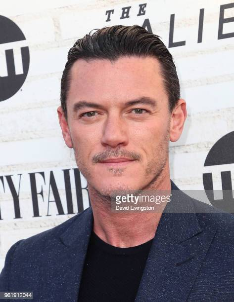 Actor Luke Evans attends the Emmy For Your Consideration Red Carpet Event for TNT's The Alienist at the Wallis Annenberg Center for the Performing...