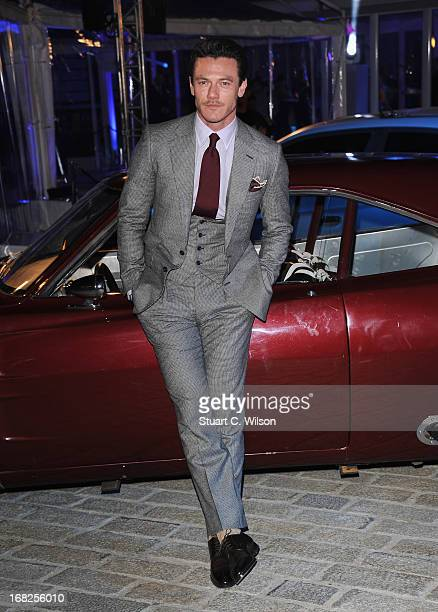 Actor Luke Evans attends the Fast Furious 6 World Premiere after party at Somerset House on May 7 2013 in London England