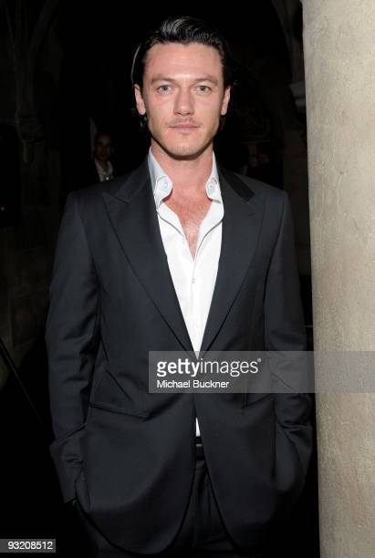 Actor Luke Evans attends the GQ Men Of The Year party held at Chateau Marmont on November 18 2009 in Hollywood California