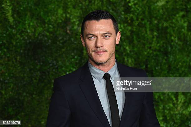 Actor Luke Evans attends the MoMA Film Benefit presented by CHANEL A Tribute To Tom Hanks at MOMA on November 15 2016 in New York City