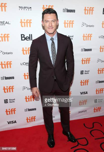 Actor Luke Evans attends the premiere of Professor Marston The Wonder Women during the 2017 Toronto International Film Festival at Princess of Wales...