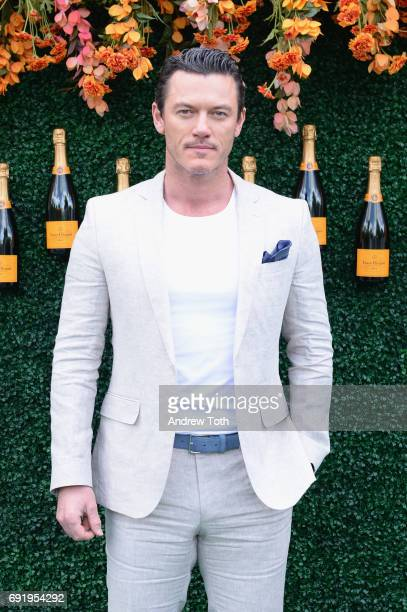 Actor Luke Evans attends The Tenth Annual Veuve Clicquot Polo Classic at Liberty State Park on June 3 2017 in Jersey City New Jersey