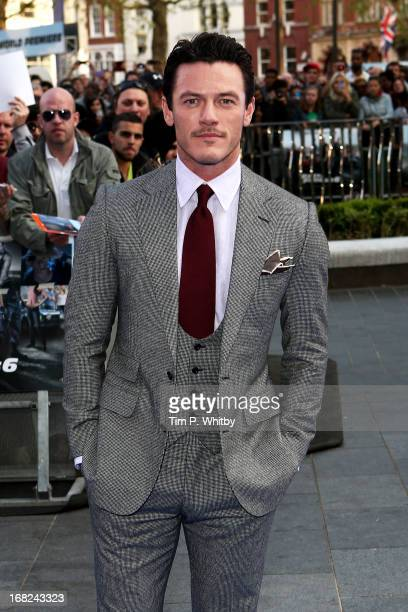 Actor Luke Evans attends the World Premiere of 'Fast Furious 6' at Empire Leicester Square on May 7 2013 in London England