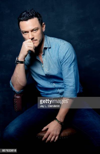 Actor Luke Evans from the film Professor Marston The Wonder Women poses for a portrait at the 2017 Toronto International Film Festival for Los...