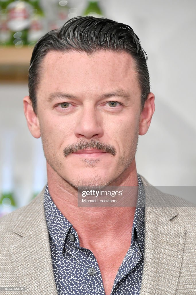 Actor Luke Evans introduces 'Stellaspace' at Inscape on August 9, 2018 in New York City.