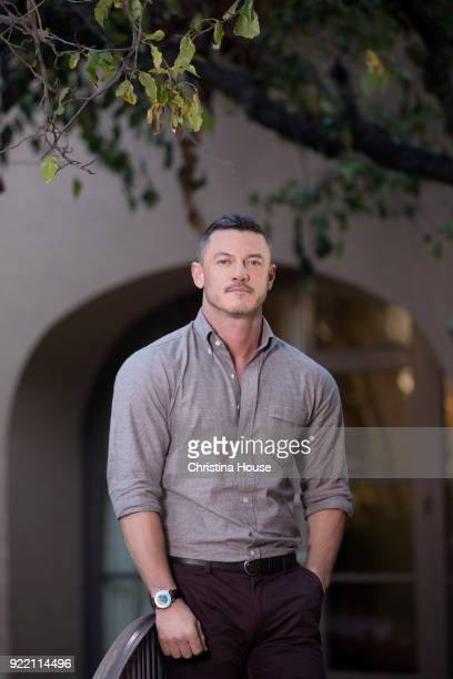 Actor Luke Evans is photographed for Los Angeles Times on January 11 2018 in Pasadena California PUBLISHED IMAGE CREDIT MUST READ Christina House/Los...