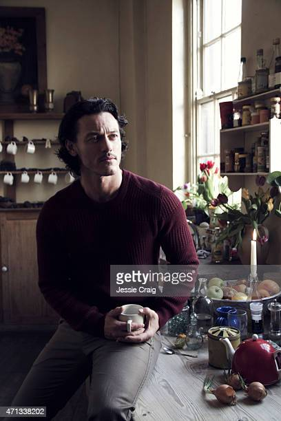 Actor Luke Evans is photographed on March 29 2014 in London England