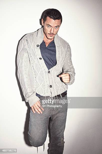 Actor Luke Evans is photographed on November 27 2012 in London England