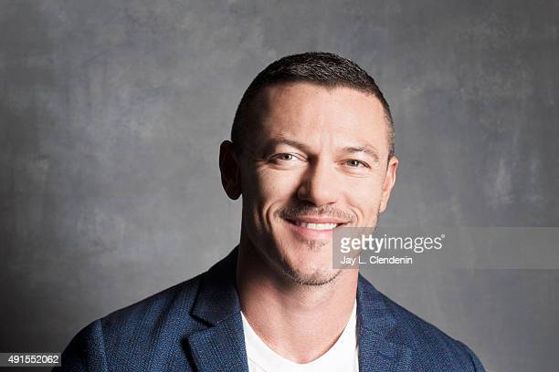 Actor Luke Evans of the film HighRise is photographed for Los Angeles Times on September 25 2015 in Toronto Ontario PUBLISHED IMAGE CREDIT MUST READ...