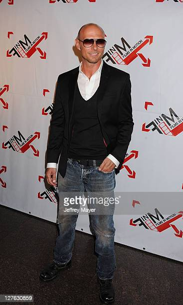 Actor Luke Goss arrives at the World Premiere of 'Blood Out' at Directors Guild Of America on April 25 2011 in Los Angeles California