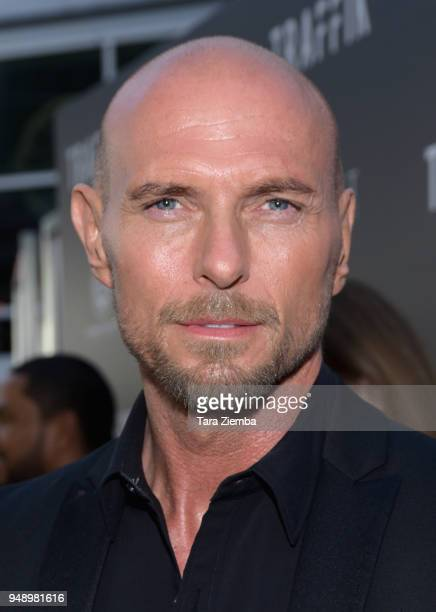 Actor Luke Goss attends the premiere of Codeblack Films' 'Traffik' at ArcLight Hollywood on April 19 2018 in Hollywood California