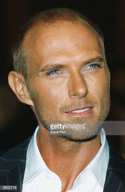 Actor Luke Goss attends the UK Premiere of Charlie at the Warner Village Cinema West End on February 2 2004 in London Charlie is the story of London...