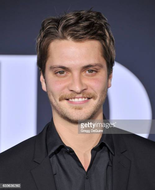 Actor Luke Grimes arrives at the premiere of Universal Pictures' Fifty Shades Darker at The Theatre at Ace Hotel on February 2 2017 in Los Angeles...