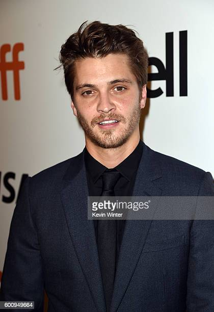 Actor Luke Grimes attends The Magnificent Seven premiere during the 2016 Toronto International Film Festival at Roy Thomson Hall on September 8 2016...