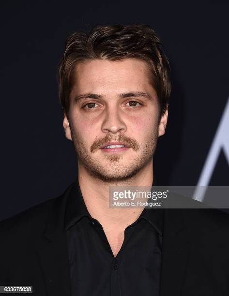 Actor Luke Grimes attends the premiere of Universal Pictures' 'Fifty Shades Darker' at The Theatre at Ace Hotel on February 2 2017 in Los Angeles...