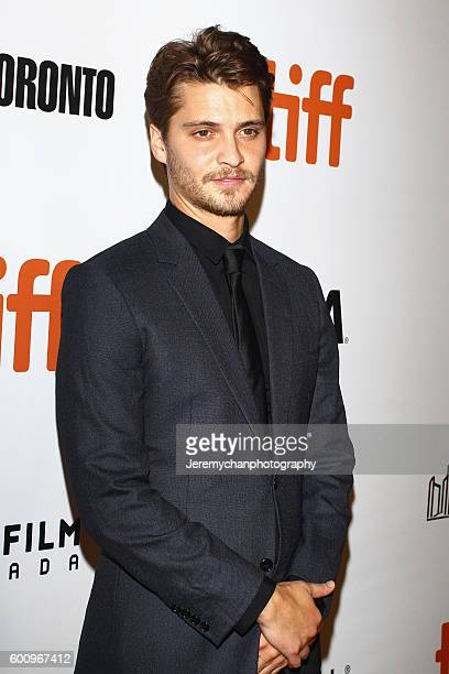 """Actor Luke Grimes attends the """"The Magnificent Seven"""" premiere held at Roy Thomson Hall during the Toronto International Film Festival on September..."""