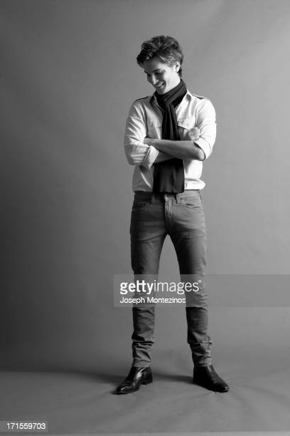 Actor Luke Grimes is photographed for Marie Claire UK on November 20 2008 in Los Angeles California