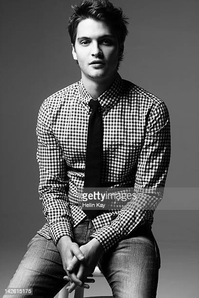 Actor Luke Grimes is photographed for Signature LA Magazine in Los Angeles United States
