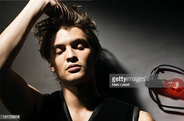 Actor Luke Grimes is published for Vanity Fair Italy on June 1 2009 in Los Angeles California