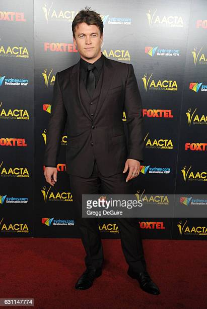 Actor Luke Hemsworth arrives at the 6th AACTA International Awards at Avalon Hollywood on January 6 2017 in Los Angeles California